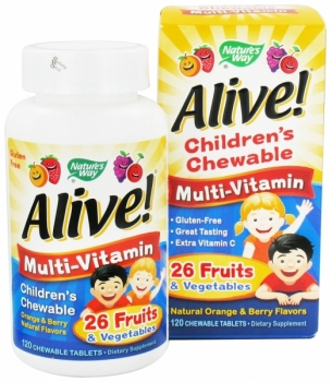ChildrenS Chewable Multi - Vitamin